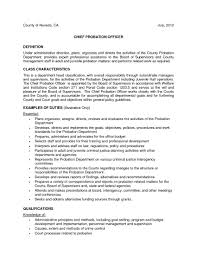 Assistant Probation Officer Sample Resume Stunning Probation Officer Internship Cover Letter Journalinvestmentgroup