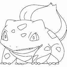 Small Picture Pokemon coloring Bulbasaur free pokemon coloring page free