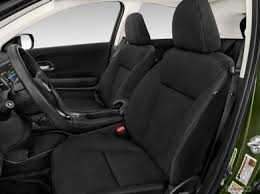 Fitting a bulky child seat's relatively easy, too. 2017 Honda Hr V Interior Cargo Space Seating U S News World Report