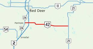 Alberta Distance Chart Alberta Highway 42 Wikipedia