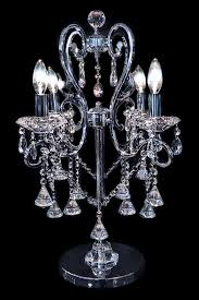 wonderful crystal chandelier lamp chandelier table lamps crystals roselawnlutheran