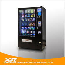 Vending Machine Graphics Custom China Combo Vending Machine For SnacksDrinks With Graphics China