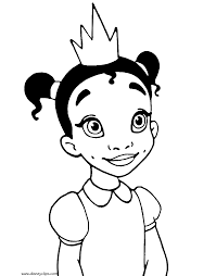 Small Picture The Princess and the Frog Coloring Pages Disney Coloring Book