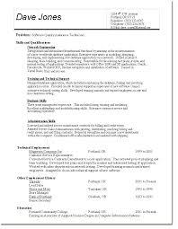 Quality Assurance Resume Template Resume Sample Quality Assurance
