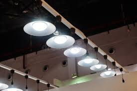 lighting in an office. Download Led Hanging Lighting In Office Stock Image - Of Bulbs, Hall: 63346491 An