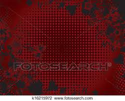 black and red floral background design. Black And Red Floral Background For Design
