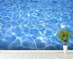 pool water wallpaper. Wonderful Water Swimming Pool Mural Wallpaper Room Setting With Water Wallpaper I