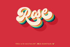 Psd Design Free Download Free Download Rose Text Effect Webdesigner Depot