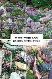 Small Picture 20 Beautiful Rock Garden Design Ideas Shelterness