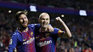 ملخص مباراة برشلونة واشبيلية 5×0   آخر نهائي لانيستا مع برشلونة 💔 - YouTube