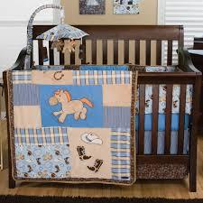 trend lab cowboy baby 4 piece crib