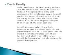 cruel and unusual punishment the death penalty ppt death penalty