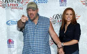 larry the cable guy wife. Contemporary Guy Standup Comedian Larry The Cable Guy Is Living Happily With His Wife Cara  Whitney Throughout The