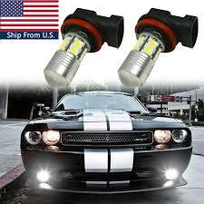 2012 Dodge Challenger Fog Light Bulb Replacement Details About 2x High Power H11 Led Front Fog Light Bulbs For Dodge Challenger Durango Dart