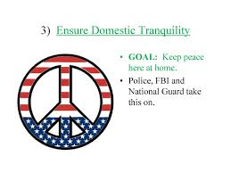 Ensure Domestic Tranquility New Unit Constitutional Law Ppt Download