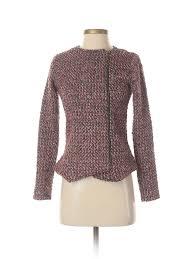 Details About Pim Larkin Women Brown Jacket Xs