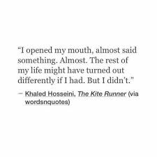 Khaled Hosseini Quotes You Would Definitely Want To Bookmark     Pinterest The Kite Runner