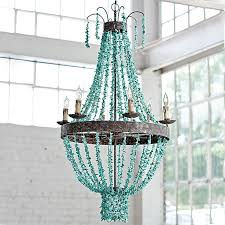 regina andrew lighting turquoise beaded chandelier lighting beach
