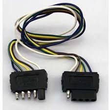 wesbar 707255 5 way wiring harness extension product sku