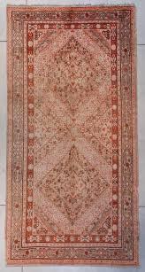 7393 antique khotan oriental rug 6 6 x 12 10