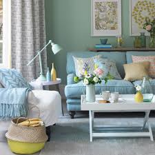 Blue And Green Living Room monty retro tv duck egg living room living room ideas and room 5919 by xevi.us