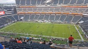seat view for lincoln financial field section 203