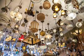 eclectic lighting. Ceiling Full Of Lights At Eclectic Revival Lighting