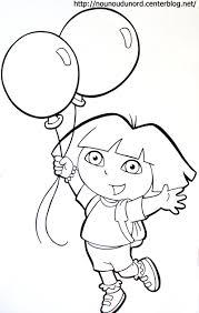 Coloriage Dora En Ligne Peinture L