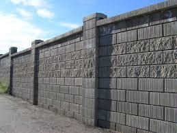 concrete fence design. Wonderful Concrete Gorgeous Concrete Block Wall Design Decorative On Fence E