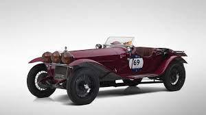 Ex Scuderia Ferrari 1930 Alfa Romeo 6c Set For Paris Sale