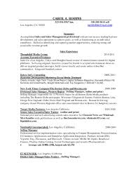 Advertising Sales Resume Resume For Advertising Account Executive RESUME 7