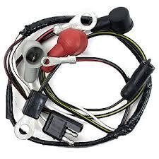 1965 mustang alternator v8 wiring harness w lights, ne performance alternator wiring harness connector at Alternator Wiring Harness