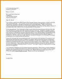 11 Engineering Internship Cover Letter Letter Signature