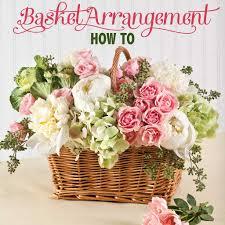 Basket Flower Decoration Basket Flower Arrangement Step By Step Beautiful Spring And Flower