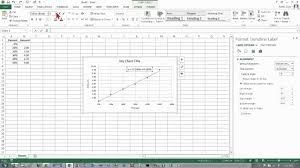 Regression Chart Excel 2013 Copy Of Aqr Unit 4 Lesson 4 Use Excel To Create Scatter