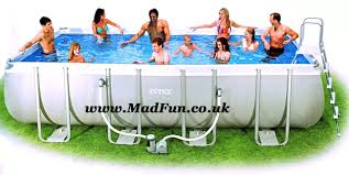intex above ground pool rectangle. Intex Above Ground Pool Rectangle