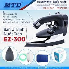 Bàn ủi hơi nước bình treo công nghiệp EZ-300 SILVER STAR - Hàng chính hãng