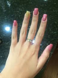 photo of envy nails tracy ca united states mauve nails with gold