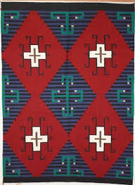 Traditional navajo rugs Early Navajo Picture Of Moki Navajo Rug Nd Pbs Germantown Style Navajo Weavings Antique Native American Rugs For