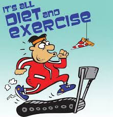 Diet And Excercise Humor Unfortunately Its All About Diet Exercise