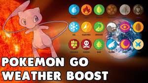 Pokemon Go Latest Update Weather Boost & Types - YouTube