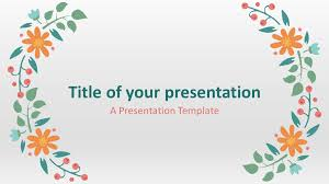 Spring Powerpoint Background Spring Template For Powerpoint And Google Slides