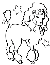 Easy Coloring Pages For Kids Dogs Printable Coloring Page For Kids