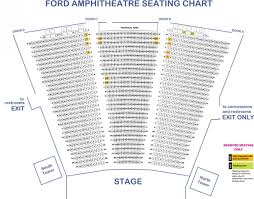 The Palladium Los Angeles Seating Chart Seating Chart Maps The Ford Theatres