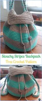 Crochet Backpack Free Pattern