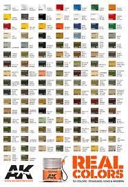 Leaf Color Chart For Sale Real Colors Afv Full Range