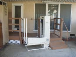 PRODAN CONSTRUCTION DECK FOR HANDICAPPED WHEELCHAIR LIFT ANN - Exterior wheelchair lifts