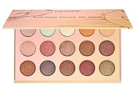 colourpop golden state of mind shadow palette available october 31st