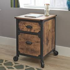 industrial home furniture. NEW Filing Cabinet 2 Drawer Rustic Wood Storage Industrial Home Office Furniture I