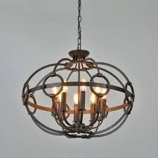 one tier chandelier metal frame